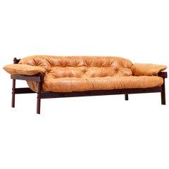 Percival Lafer MP-41 Series Brazilian Leather Sofa