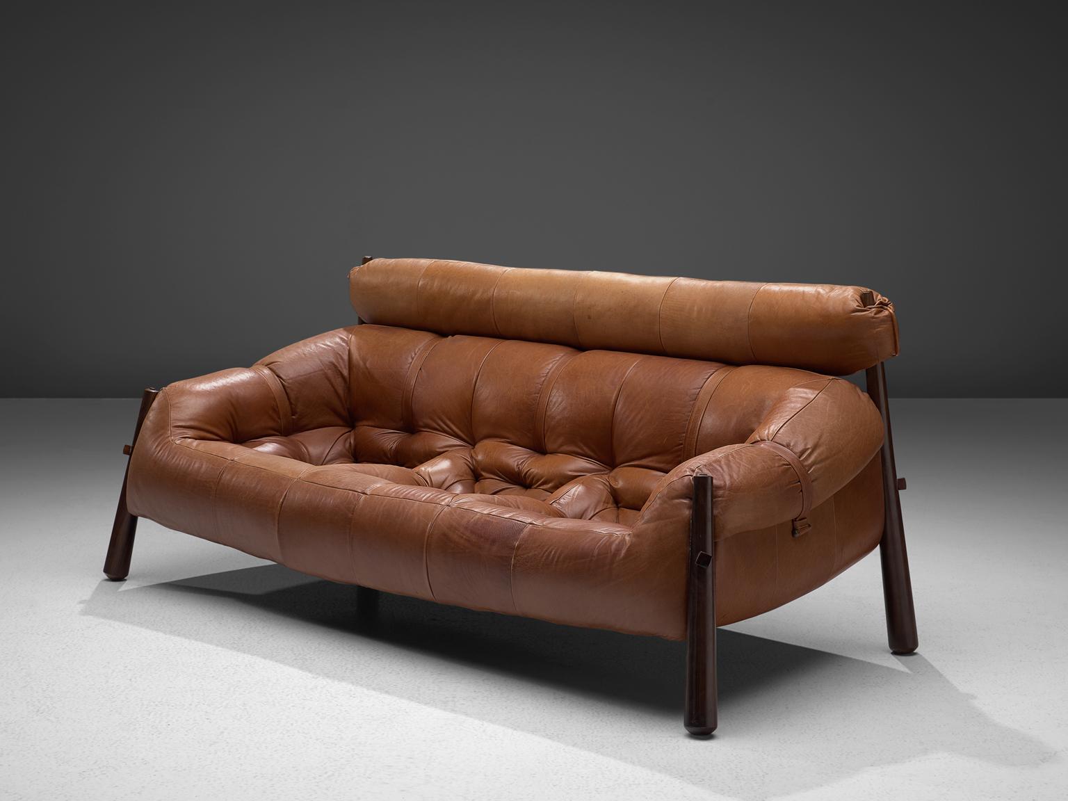 Superbe Percival Lafer U0027Mp 81u0027 Lounge Set In Rosewood And Cognac