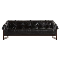 Percival Lafer Sofa Model MP-091 Produced by Lafer MP in Brazil