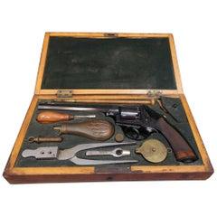 Percussion Revolver, Adams in London Model 1851, in its Original Box