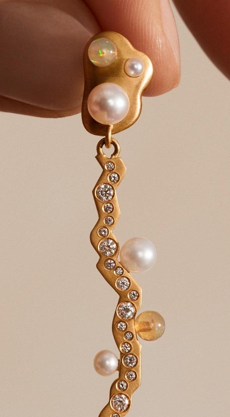 Perennial No 2 Earring by Jo Riis-Hansen In New Condition For Sale In Copenhagen, DK