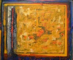 Perez Celis, Huellas Secretas, mixed media and oil on canvas, 1989