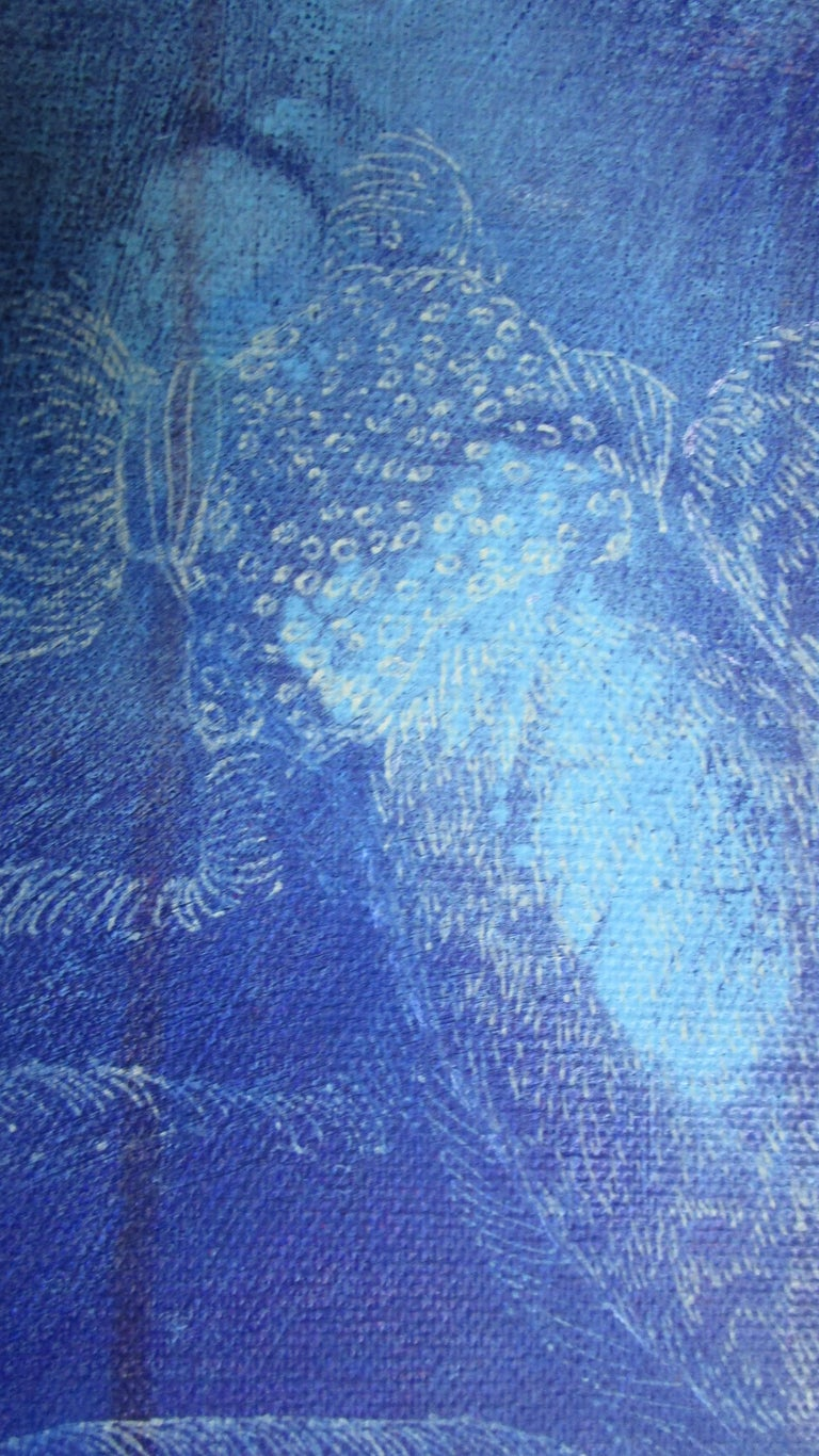 Fleurs et Bestials by Perez Petriarte Painting  2
