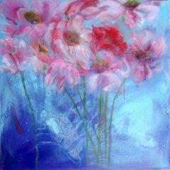Fleurs et Bestials by Perez Petriarte Painting