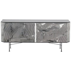 Perf Stripe Credenza with Steel Top by Moroso for Diesel