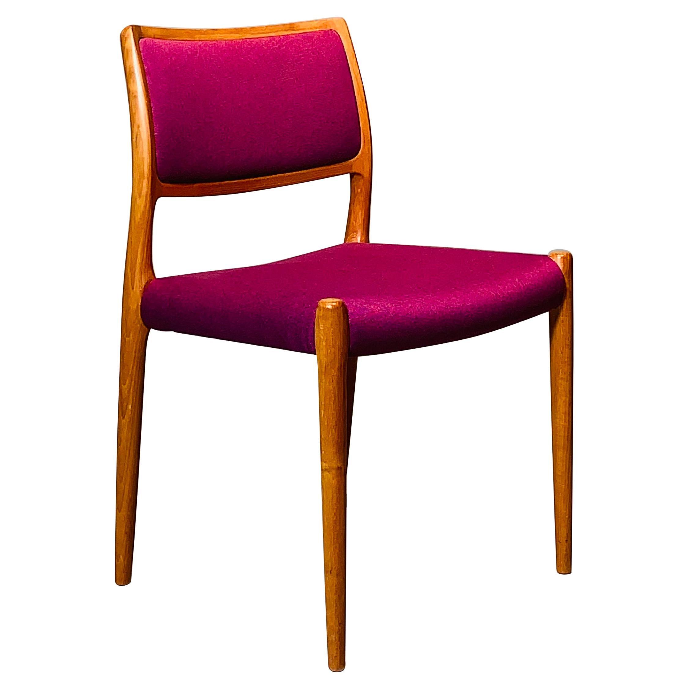 Perfect Chair by Niels O. Moller Model Nr.. 80 in Teak