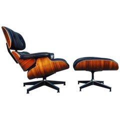 Perfect Herman Miller Eames Lounge Chair and Ottoman