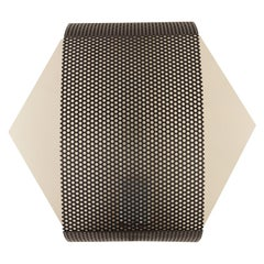 Perforated Hexagon Sconce by Lawson-Fenning