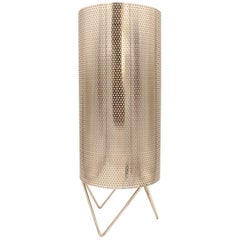Perforated Metal Table Lamp by Barba Corsini for Gaudi's Casa Mila