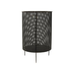 Perforated Steel Waste Basket by Mathieu Mategot