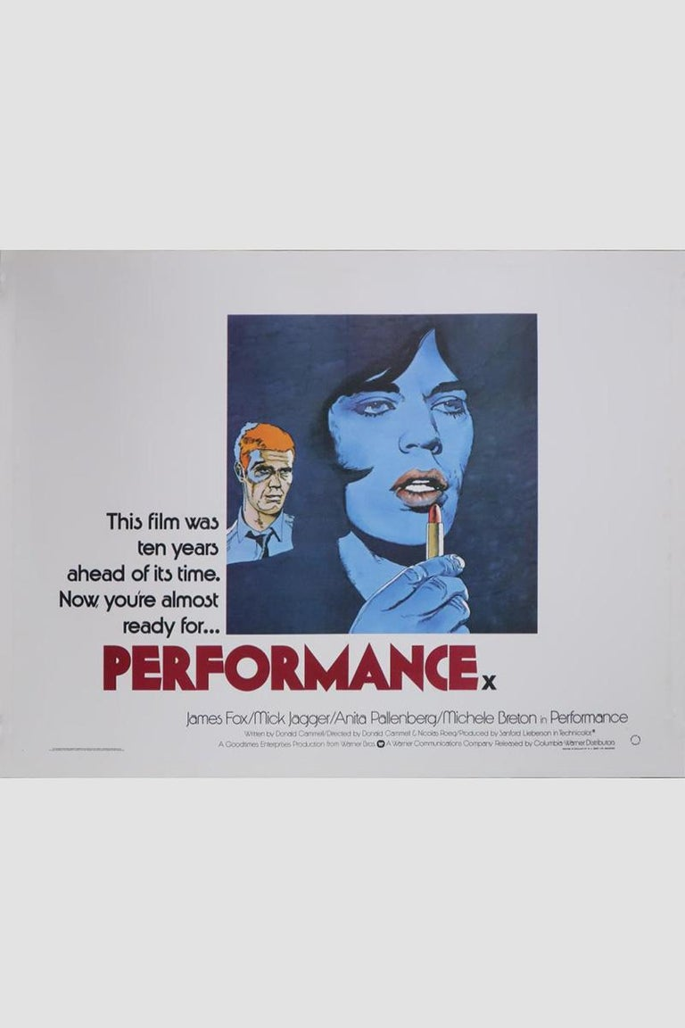 British Performance 1979 Poster For Sale