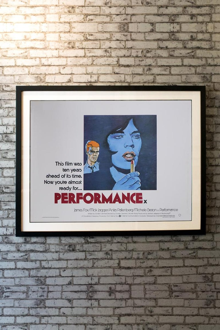 Performance 1979 Poster In Good Condition For Sale In London, GB