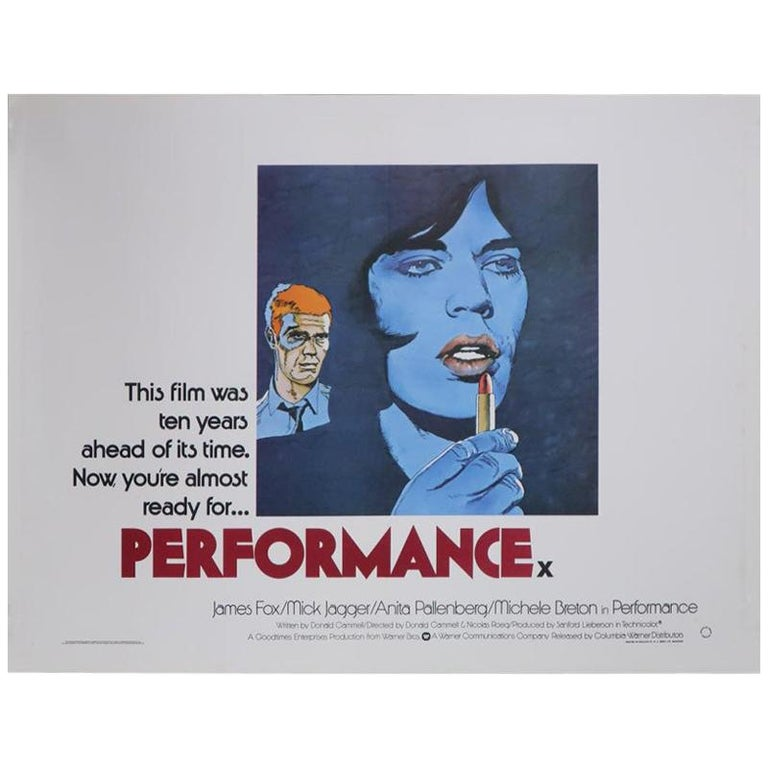 Performance 1979 Poster For Sale