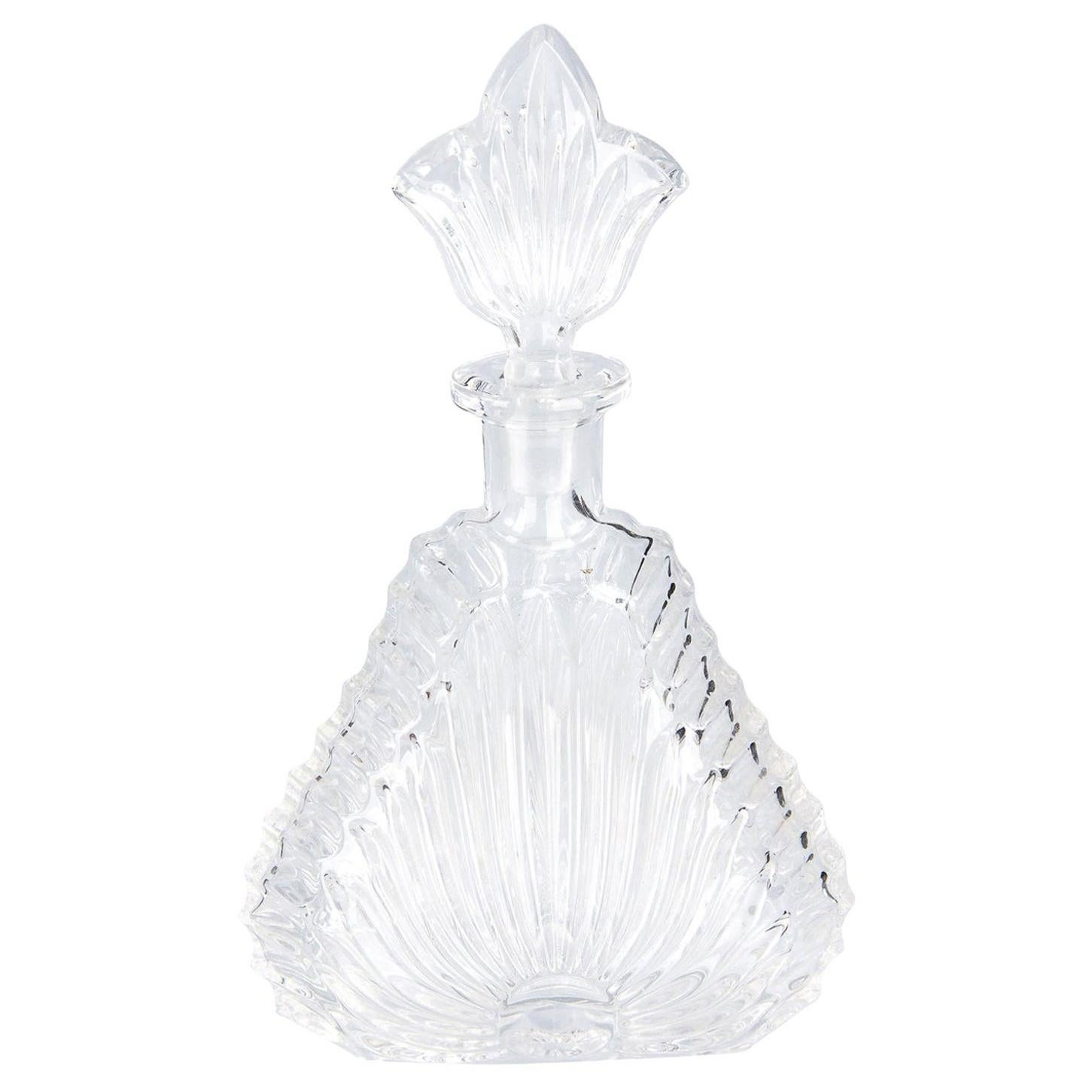Perfume Glass Bottle from France, 1950s