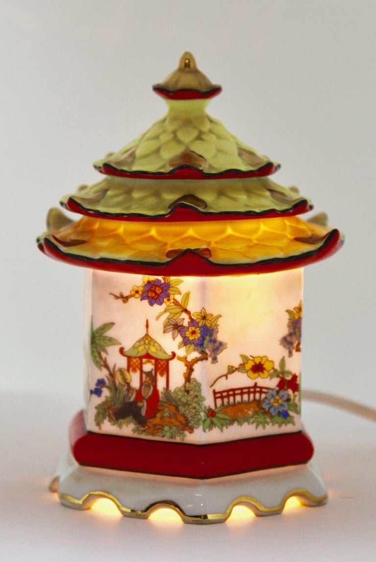 Art Nouveau  Perfume Lamp / Air Purifier /Carl Scheidig Gräfenthal, Germany, circa 1930s For Sale