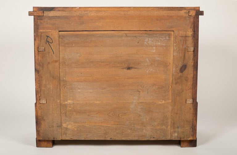 Period Biedermeier Birch Chest with Modern Appeal For Sale 13