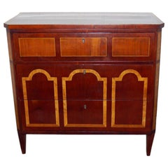 Period Danish Empire Chest of Drawers
