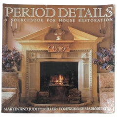 Period Details Decorative Softcover Vintage Book