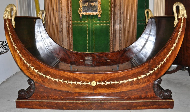Period French Empire Bed or