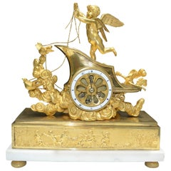 Period French Empire Mantle Clock