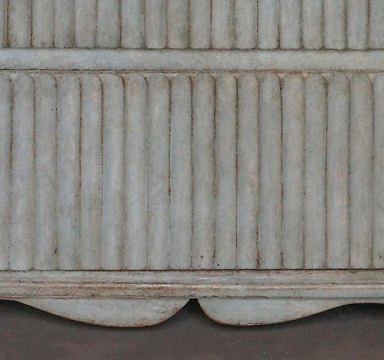 Brass Period Gustavian Three-Drawer Chest For Sale