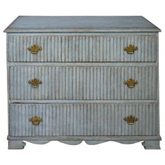 Period Gustavian Three-Drawer Chest
