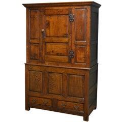 Period Oak Antique Harness Cupboard