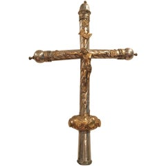 Period Renaissance Early 16th Century Processional Cross, France
