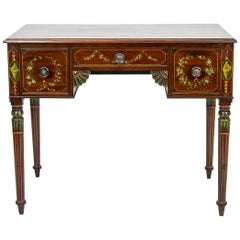 Period Sheraton Painted Serving Table