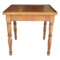Period Small Country French Table in Walnut