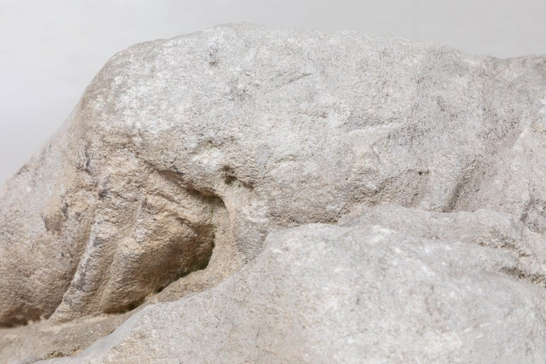 Italian Period, Solid Limestone Sculpture Fragment For Sale