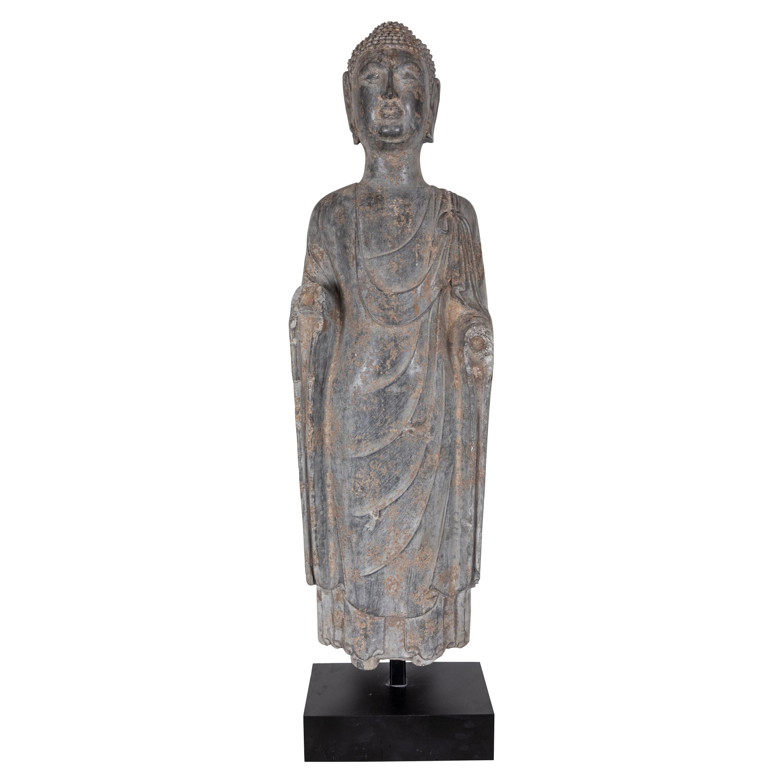 Period, Stone Buddha Sculpture