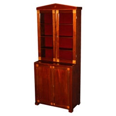 Period Swedish Empire Bookcase Cabinet Cabinetmaker's Sample