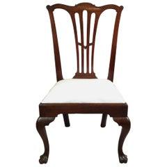 Period Tri Foot Mahogany Philadelphia Side Chair