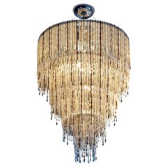Perle Cascata Pendant Lamp in Cognac Mix