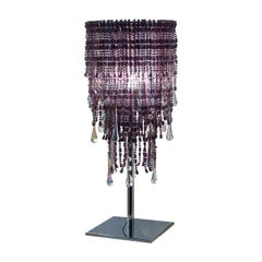 Perle Cascata Table Lamp in Lilac