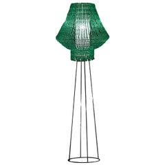 Perle Galactica Beta Floor Lamp in Green