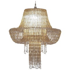 Perle Liquida Pendant Lamp in Golden