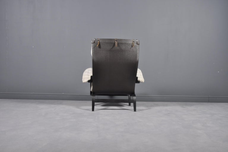 Swedish Pernilla Lounge Chair by Bruno Mathsson for DUX, 1969s For Sale