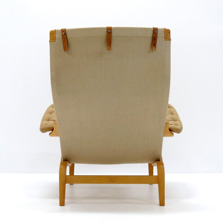 Late 20th Century Pernilla Lounge Chairs by Bruno Mathsson for DUX For Sale
