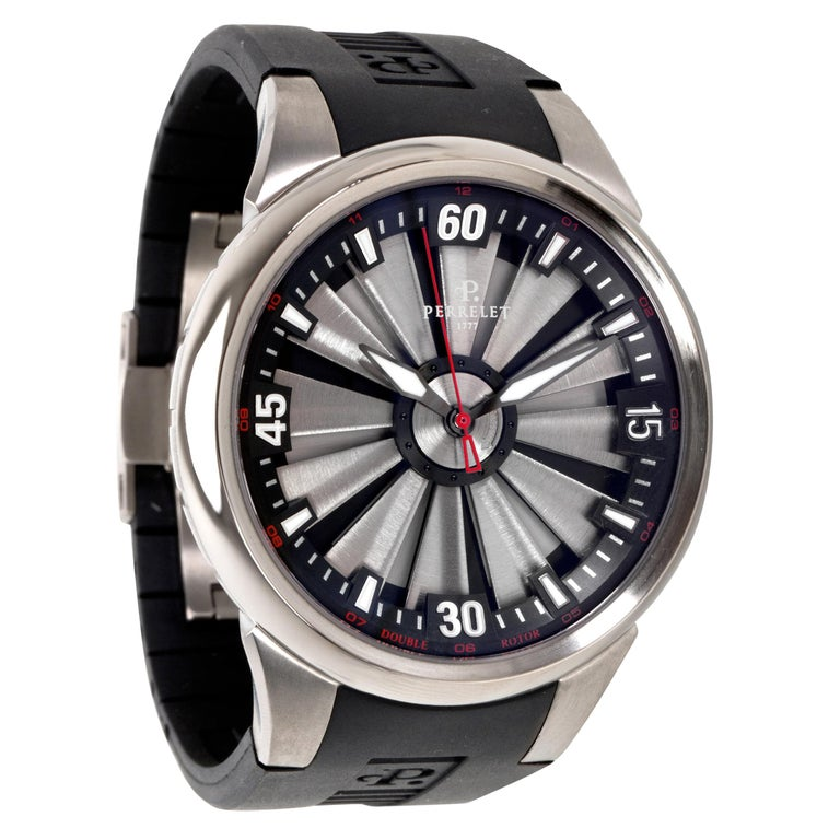 Perrelet Turbin A5006 Men's Watch in Titanium For Sale