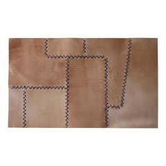 Perron Sculptural Patchwork Leather Placemat