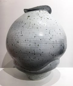 Contemporary Design, Ceramic Sculpture, Porcelain, Iron Particles, Glaze, Clay