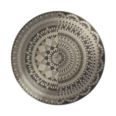 Persephone Round Mosaic Panel by Mutaforma