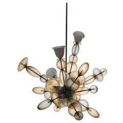 Perseus 7265 Suspension Lamp in Glass, by Marcel Wanders