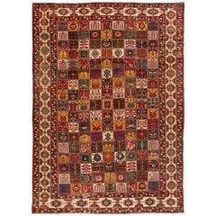Persian Antique Bakhtiari Rug