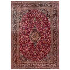 Persian Antique Kashan Rug