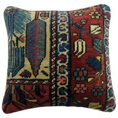Persian Bakhtiari Rug Pillow