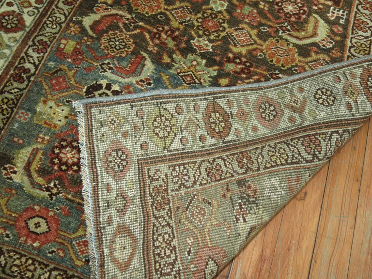 Early 20th Century Persian Bidjar Runner For Sale