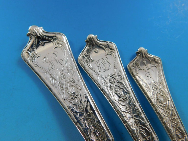 Persian by Tiffany Sterling Silver Flatware Set of Service 92 Pieces For Sale 2